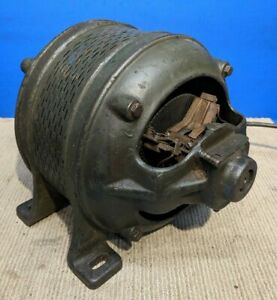 Vtg Massive Wagner Electric Induction Motor 1 2hp 1ph 1750rpm 110 220v Antique