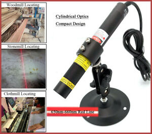 Focusable 660nm 300mw Red Laser Line Module for Stone wood Cut Locating 5v