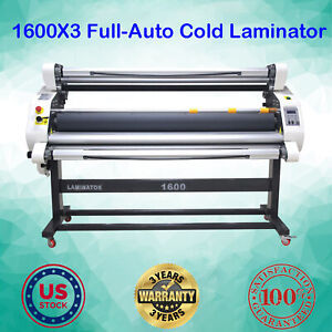 Us 67 Semi auto Wide Format Large Cold Laminator Automatic Take Up Low Temp