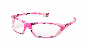 Gateway Metro Camo pink Clear Safety Glasses Womens Camouflage Z87