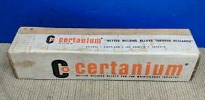 Certanium 702 Stick Rod Electrode 5 Lb Bundle Welding Brazing Arc