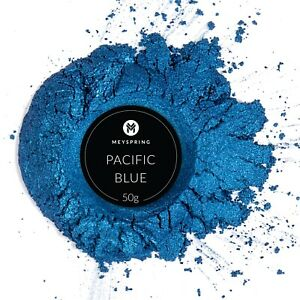 MEYSPRING Pacific Blue Mica Powder for Epoxy Two Tone Resin Color Pigment $15.99