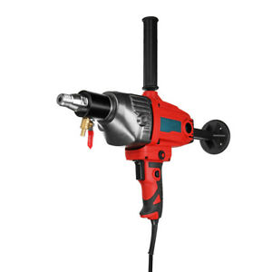 220v 1600w Diamond Concrete Core Drill Hand Held Machine Set Wet Drilling Powerf