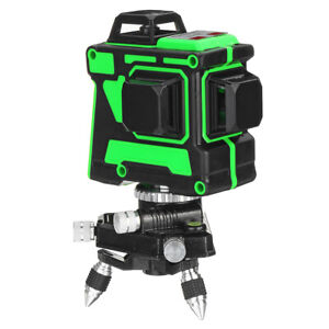 12 Lines Green 3d Laser Level Auto 360 Degree Waterproof Self leveling Measure