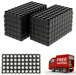 10-Pack 50 Round Large Ammo Tray Universal Reloading Loading Blocks Bullet Case