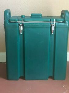 Cambro 250lcd Green 2 5 Gallon Insulated Beverage Dispenser Hot Or Cold Used