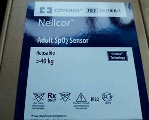 Covidien Nellcor Ds100a 1 Adult Spo2 Sensor original W Packing free Shipping