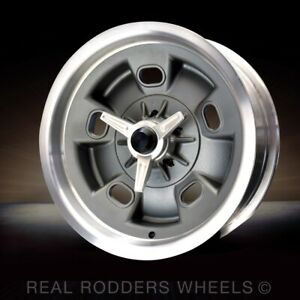 Magnesium Halibrand Vintage Replica Wheels