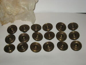 Vintage Brass Hardware Drawer Cabinet Pull Knobs 18