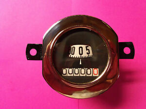 Model A Ford Stewart Warner Round Rebuild Speedometer 30 31 Guaranteed