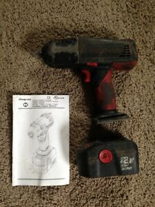 Snap On 1 2 18v Cordless Impact Wrench Battery With Charger