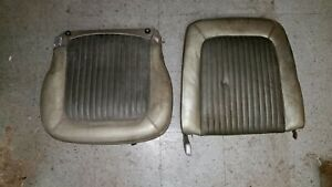 1968 Mustang Front Bucket Seat Back Upper Driver Ford Original Part Rh Side