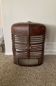 Industrial steampunk Farmall Case Man Cave Sign Vintage Tractor Grill W Lights