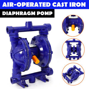 Air operated Double Diaphragm Pneumatic Membrane Pump 12gpm 1 2 inlet