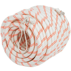 5 8 Braid Rope Polyester Rope Rigging Rope 120ft Polyester Rope Tree Hoist Line