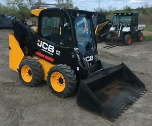 2015 Jcb 205 Eco Skidsteer Loader Heat ac Hyd Quick Attach Only 280 Hrs
