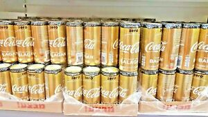 COCA COLA eurovision gold can limited edition Israel TLV MUSIC 2019