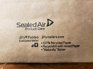 250 Jiffy Products Padded Peel Seal Mailer 0 6 X 10 Envelopes 250 box