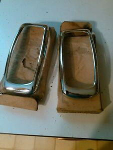 1941 Plymouth Nors Taillight brakelight Bezels