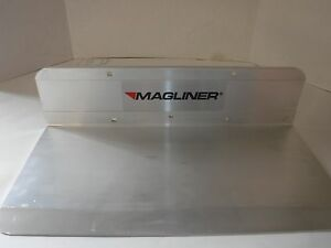 New Solid Aluminum Magliner Hand Truck Nose Plate 18 X 9 p