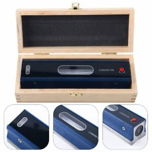 8 Inch 0 0002 10 Master Precision Level In Fitted Box Machinist Tool