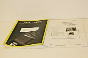 Re547689 John Deere Installation Instructions Manual Re524593 Ctm 301