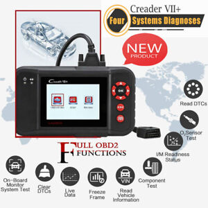 Launch X431 Creader Vii Auto Diagnostic Tool Obd2 Code Reader Abs Srs As Crp123