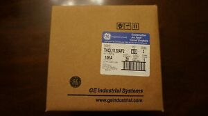 Ge Thql1120af2 20 Amp 1 pole Plug in Circuit Breaker Arc Fault 10 Count Box