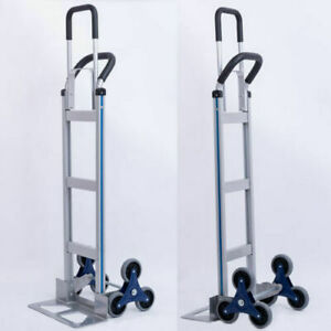 550lbs Hand Truck 6climber Moving Dolly Furniture Utility Cart Wheel Stair New