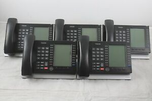 Lot Of 5 Toshiba Ip5631 sdl Poe Large Lcd Display Voip Business Phones