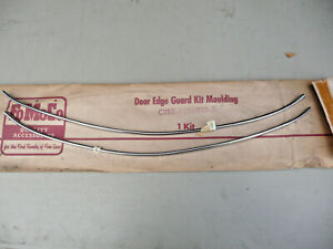 Nos 1961 1962 1963 Thunderbird Door Edge Guard Kit 61 62 63 T bird Fomoco