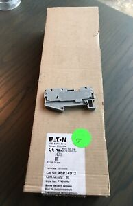 Eaton Xbpt4d12 Feed through Terminal Block New Box Of 50 Style Pt43wire New