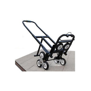 Portable Climbing Stair Car 420lbs 190kg Loading Weight carbon Steel Industry