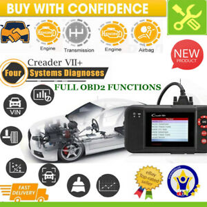 Launch X431 Vii Obd2 Diagnostic Tool Auto Scanner Engine Transmission Abs Srs