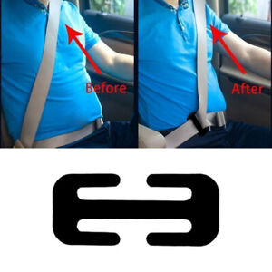 Car Safety Seat Belt Adjuster Automotive Locking Clip Belt Strap Clamp Shoulder