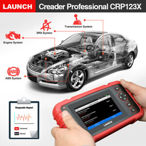 Launch X431 Crp123x Obd2 Car Scanner Automotive Diagnostic Tool 4 System Us Ship