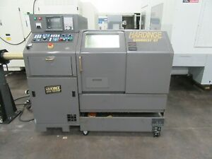 Hardinge Conquest Gt 27 Cnc Gang style Turning Center With Parts Catcher And Smw