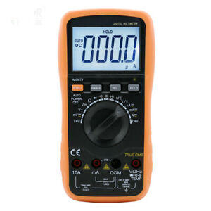 Vc97 Multimeter Tester Thermometer Resistance Ac Dc Ohm Hz c 4000count Voltmeter