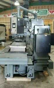 Cintimatic Bed Mill Converted Cnc Crusader Series Gxm Anilam Control 5133100