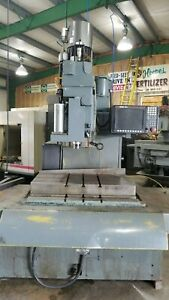 Cintimatic Series 1100 Controller bed Mill Converted Cnc Machine baldor Motor