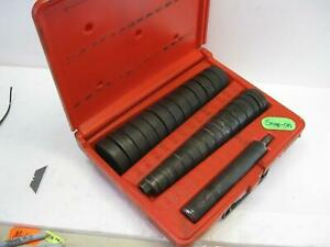 Snap On Tools A257 28 Piece Heavy Duty Bushing Driver Set Nice