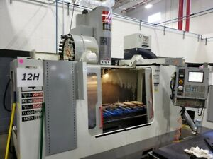 Used Haas Vf 4ss Cnc Vertical Machining Center Mill 12k Rpm Super Speed 30hp 03