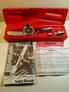 Snap on Ter12ac Torqometer W Calibration Compliance Certificate