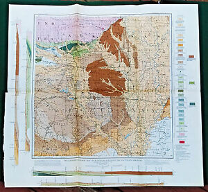 Original 1905 Geologic Map Northern Louisiana And Southern Arkansas In Color