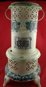 Vintage Perfection Kerosene Oil Heater Stove Converted To Electric Light Decor