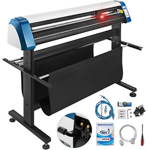 53 Inch Vinyl Cutter Sign Maker Free Design cut Software Automatic Positioning