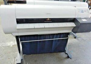 Canon Imageprograf Ipf710 36 Wide Large Format Big Inkjet Printer Plotter As is