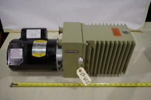 Pfeiffer Du0 012a Vacuum Pump 3 4hp Baldor Motor 115 208 230vac 1ph 1725