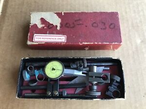 Miscellaneous Lot Federal Testmaster Dial Indicator 001