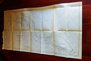 1904 Plum Point Reach Tn Shore Lines And Channel Sections Map